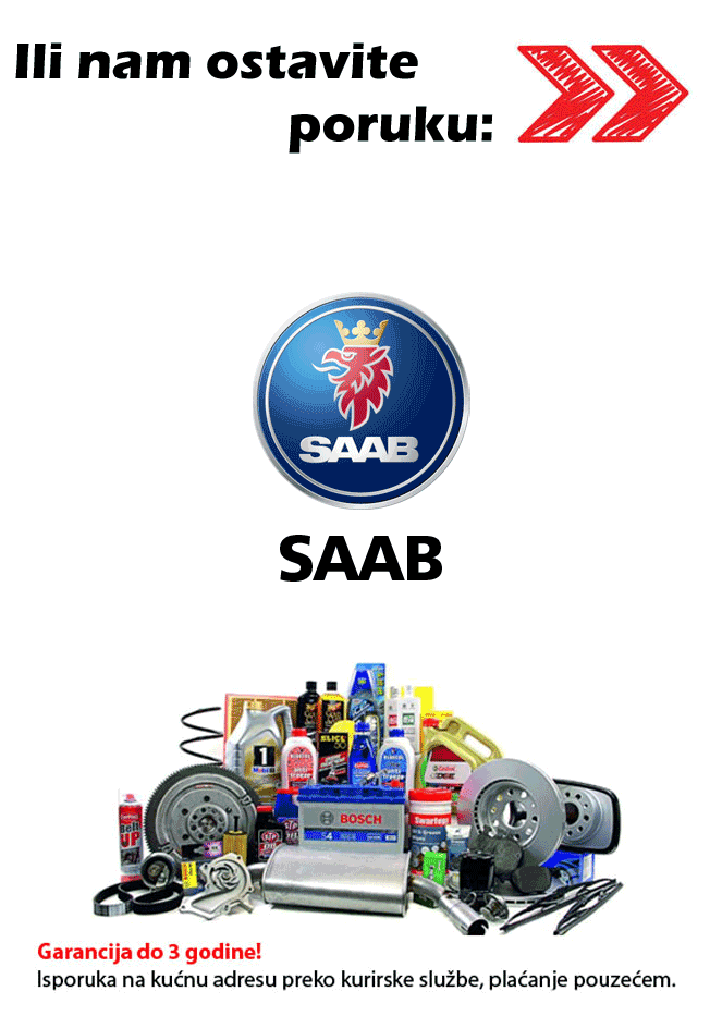 Auto delovi Saab
